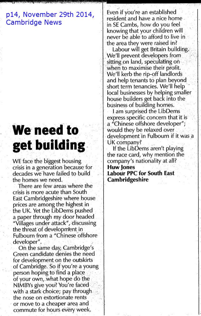 Cambridge News 2014-11-29